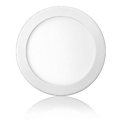 Luminária LED de Embutir Redonda 24W Branca Fria Bivolt - Elgin