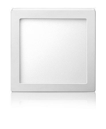 Luminária LED de Sobrepor Quadrada 24W Branca Fria Bivolt - Elgin