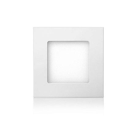 Luminária LED de Embutir Quadrada 6W Branca Fria Bivolt - Elgin