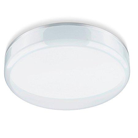 Luminária Led Multifit Redonda de 15W Branca Bivolt - Elgin