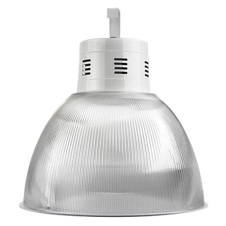 Luminária Prismática 22 Pol Alojamento Balde E-27 - Claron