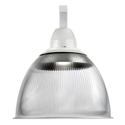 Luminária Prismática 16 Pol Cone e Gancho E-40 - Claron