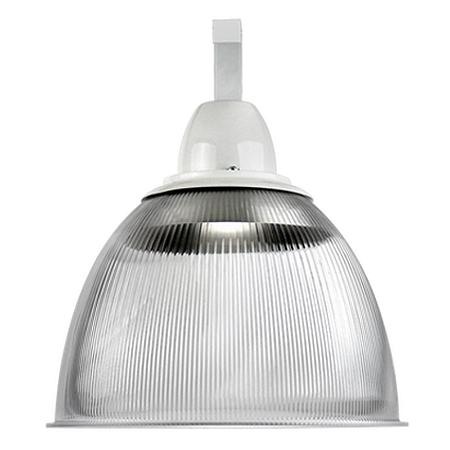 Luminária Prismática 16 Pol Cone e Gancho E-27 - Claron