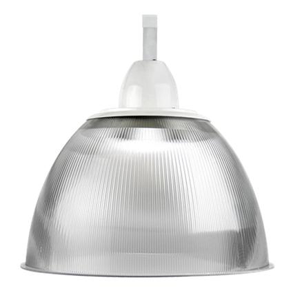 Luminária Prismática 22 Pol Alojamento Cone E-40 - Claron