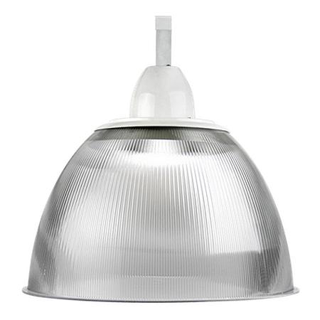 Luminária Prismática 22 Polegadas Cone e Gancho E-27 - Claron