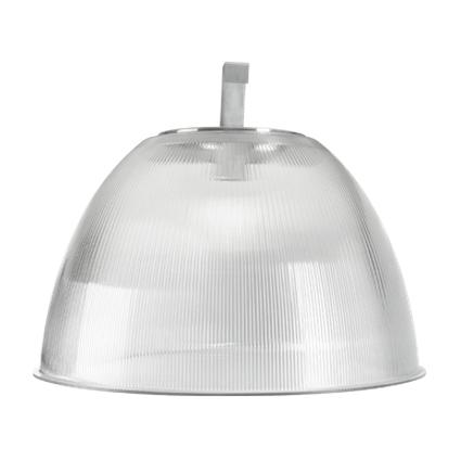 Luminária Prismática 22 Pol Prato e Gancho E-40 - Claron