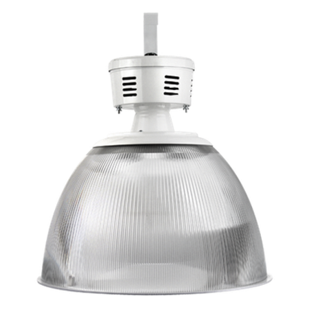 Luminária Prismática 22 Pol Alojamento Taça E-27 - Claron