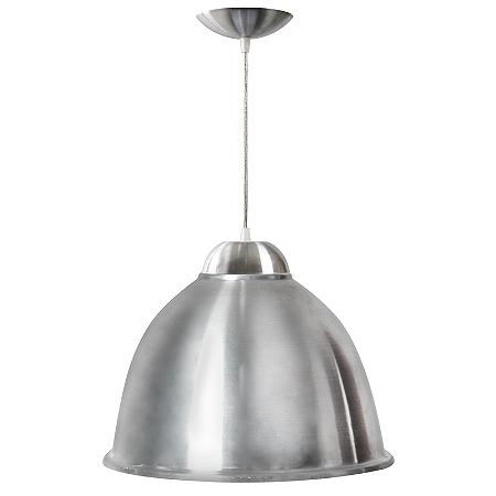 Luminária Prismática 16 Pol Pendente Alumínio E-27 - Claron