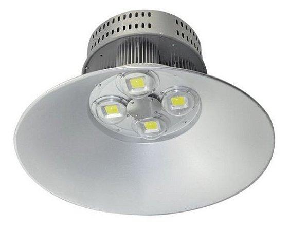 Luminária Industrial Led COB Prismática Alumínio 200W