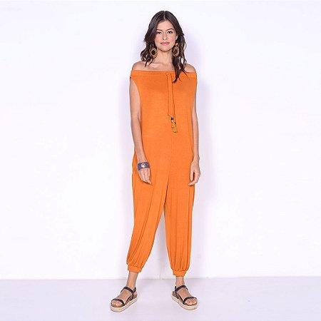 REF:. 7067  Macacão saruel em malha tricot