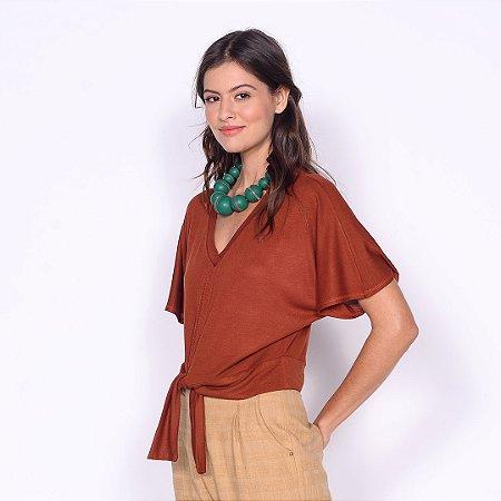 REF:. 6993  Blusa em malha tricot 100% viscose
