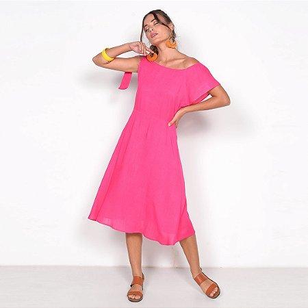 REF:. 7011 Vestido Midi Pink