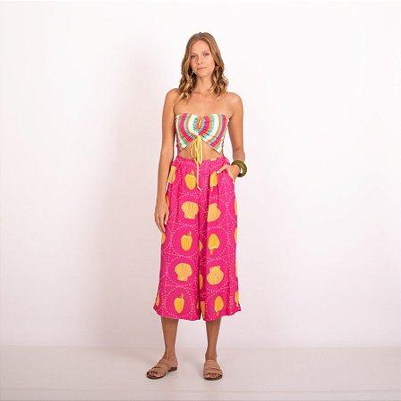REF:. 7397  Macacão Pantacourt Trindade Pink