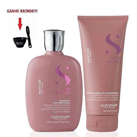 Kit Shampoo e Condicionador 200ml - Moisture Alfaparf