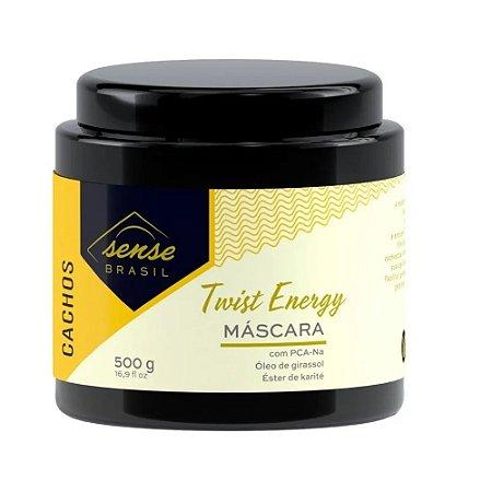 Máscara Twist Energy Cachos  Sense Brasil 500g