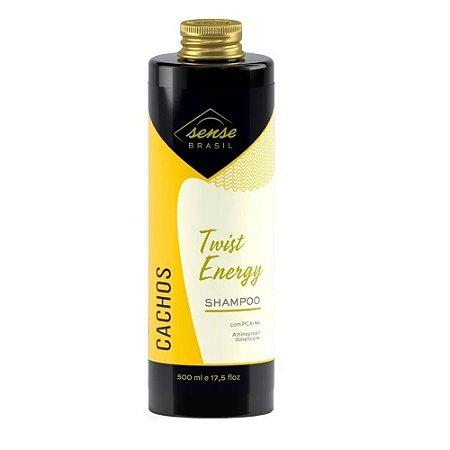 Shampoo Cachos  Twist Energy Sense Brasil 500ml