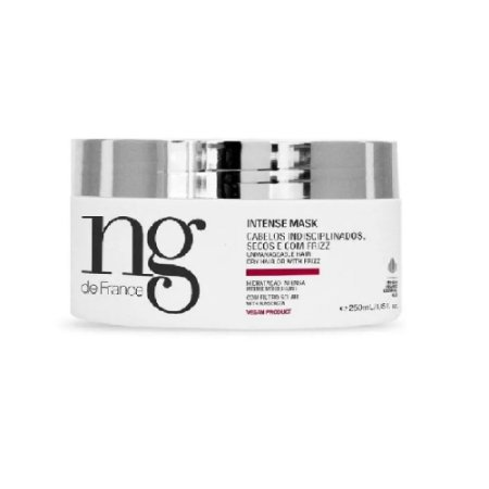 NG De France máscara de hidratação intensa 250gr - vegan