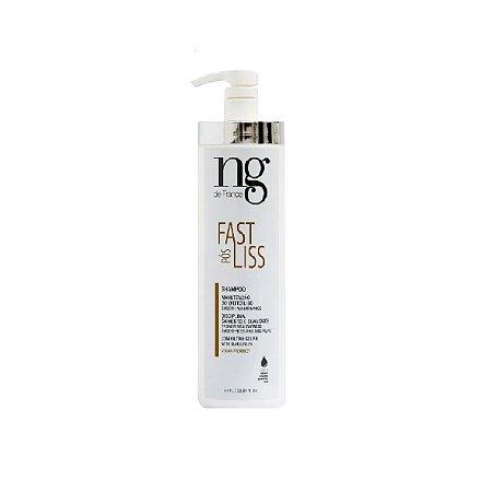 Ng De France  Shampoo Pos Fast Liss - 1 Litro - Vegan Product