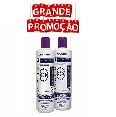 Kit Btx Platinum Plancton Shampoo E Condicionador 2 X 250ml