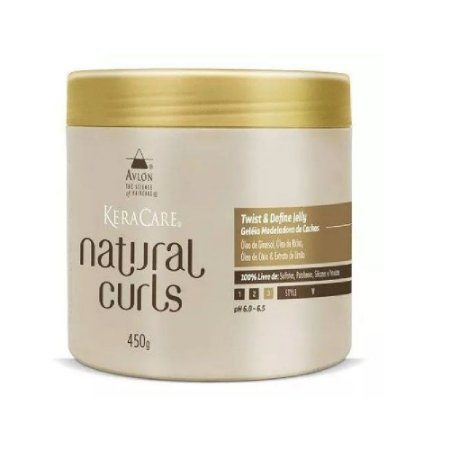 Avlon Keracare Natural Curls Twist Define Jelly 450g
