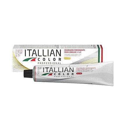 Coloração Itallian color 7.17 - Louro Marrom Frio 60g