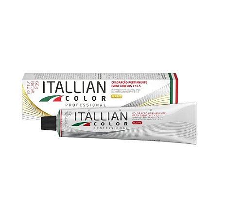 Coloração Itallian color 8.17- Louro claro marrom frio 60gr.