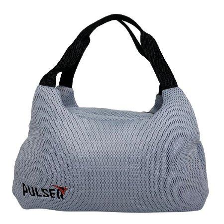 Bolsa Telada Treino Fitness Academia - Azul Claro - Pulser