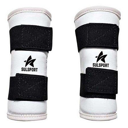 Protetor De Antebraço Para Taekwondo 19cm Infantil - Sulsport