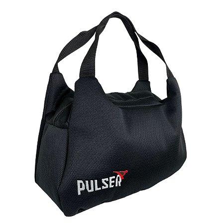 Bolsa Telada Treino Fitness Academia - Preto - Pulser