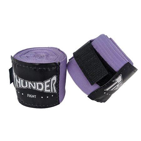 Par Bandagem Atadura Elástica 3mt - Lilas - Pulser