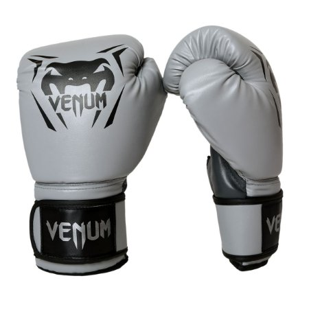 Luva de Boxe / Muay Thai 12oz New Contender - Cinza - Venum
