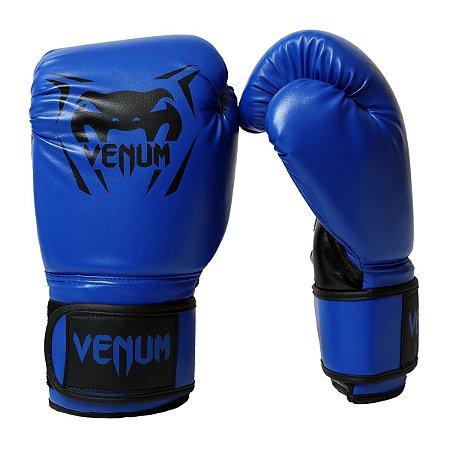 Luva de Boxe / Muay Thai 12oz New Contender - Azul - Venum