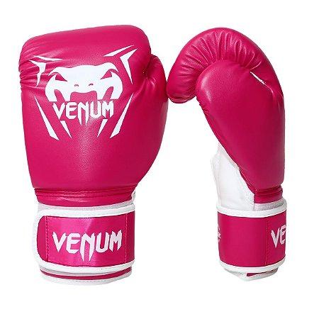 Luva de Boxe / Muay Thai Feminina 12oz New Contender - Rosa - Venum