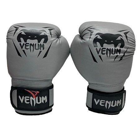 Luva de Boxe / Muay Thai 14oz New Contender - Cinza - Venum