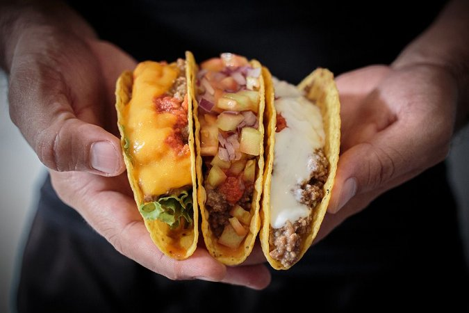 Tacos duplos Andale