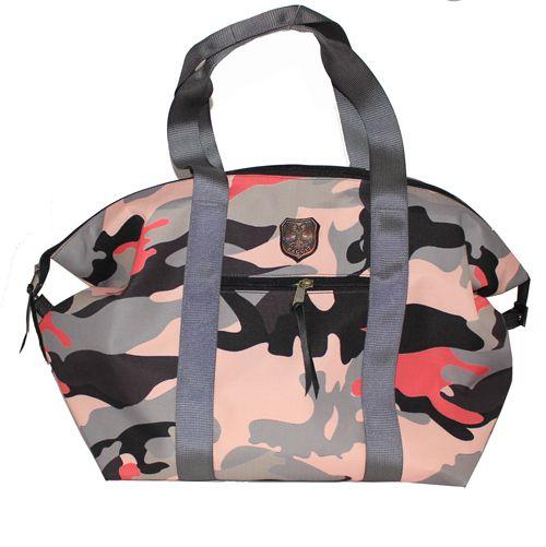 Baggit Maxi Crossfitter - Camo Pink