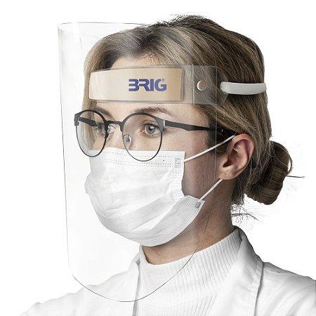 Protetor Facial Brig - Face Shield Reutilizável
