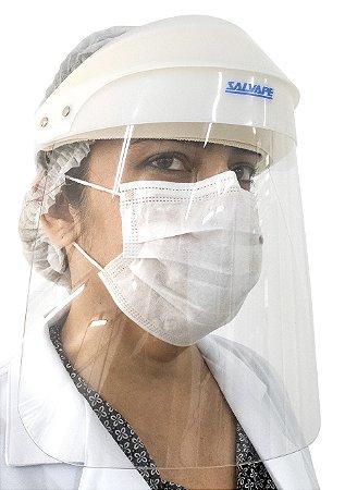 Face Shield SalvaPé - Protetor Facial Reutilizável
