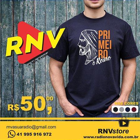 Camiseta Primeiro o Reino RNV Store