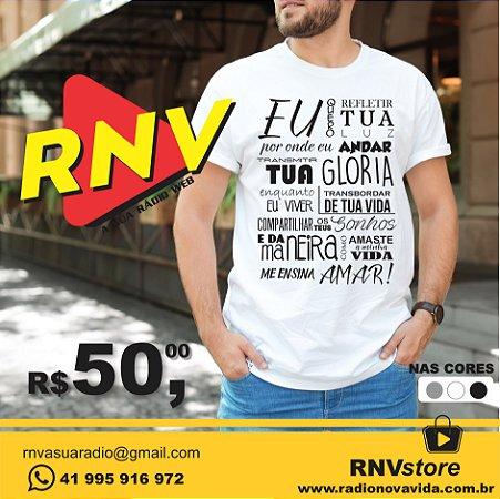 Camiseta Pensamento RNV Store