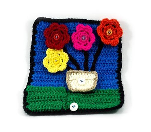 Mini Tapete de Atividades- Vaso de Flores