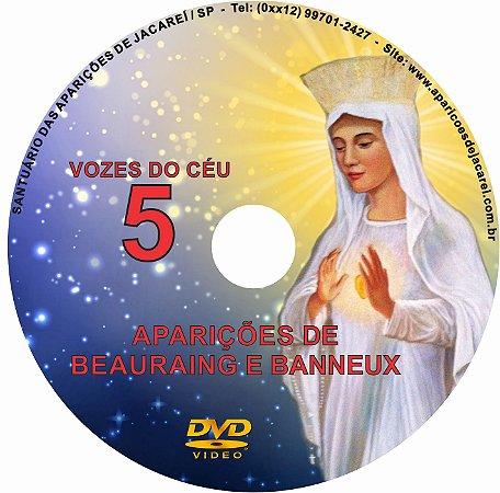 DVD VOZES DO CÉU 05- Filme das Aparições na Bélgica (Banneaux a Vidente Mariette Beco e Beauraing a vários videntes)