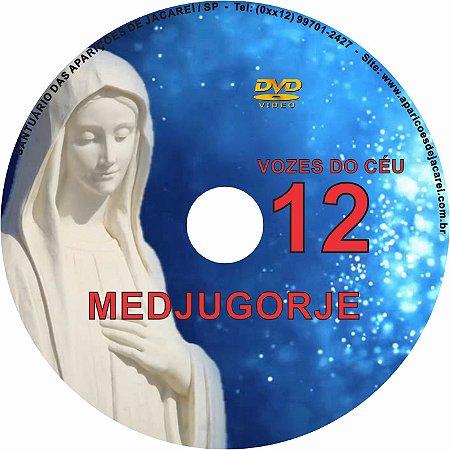 DVD VOZES DO CÉU 12- Filme 2 das Aparições de Nossa Senhora em Medjugorje, Bosnia Herzegovina a seis videntes