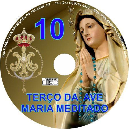CD TERÇO DA AVE MARIA MEDITADO 10