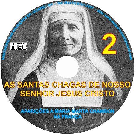CD AS SANTAS CHAGAS  DE NOSSA SENHOR JESUS CRISTO REVELADAS À MARTA CHAMBOM-2