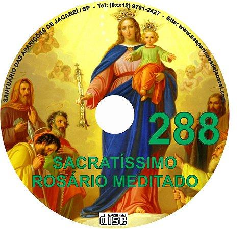CD ROSÁRIO MEDITADO 288