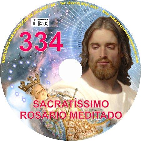CD ROSÁRIO MEDITADO 334