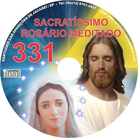 CD ROSÁRIO MEDITADO 331