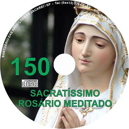 CD ROSÁRIO MEDITADO 150
