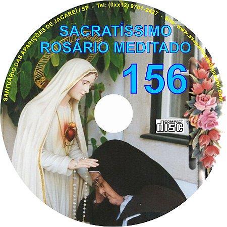 CD ROSÁRIO MEDITADO 156